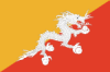 Flag of Bhutan Static Image